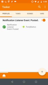 Notification Listener Tasker